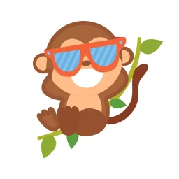 Cute Monkey Stickers Pack