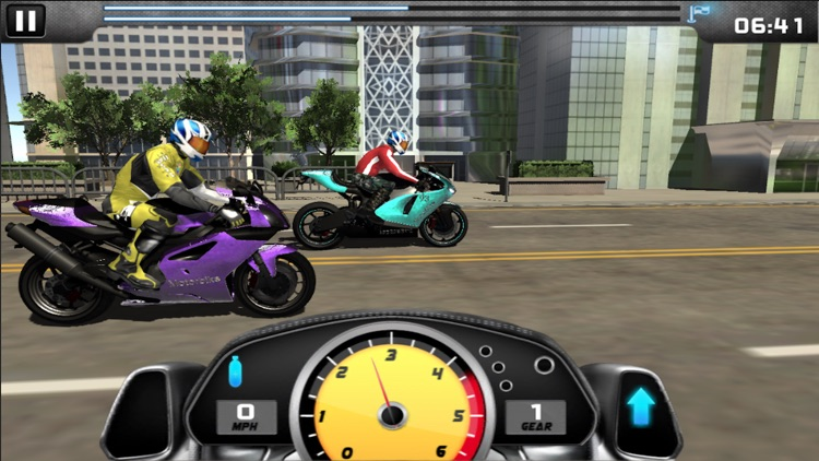 MotorBike Drag Racing screenshot-0