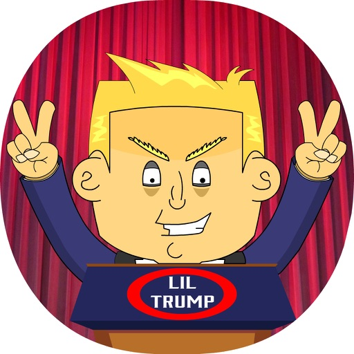 Lil' Donald Trump Stickers