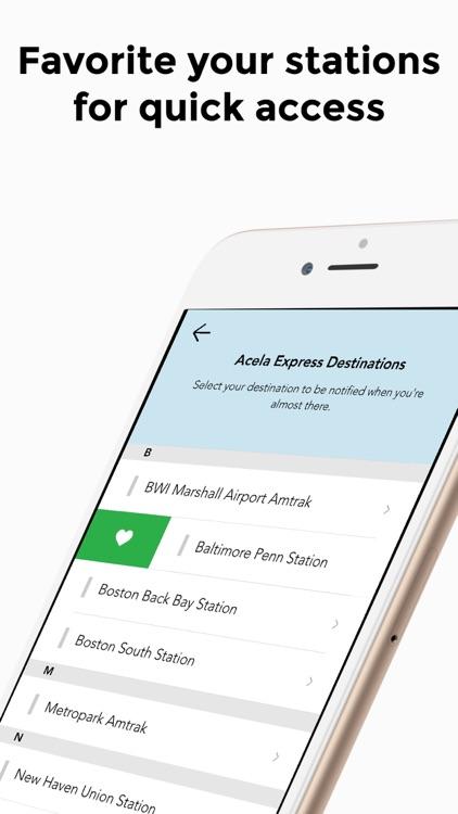 Amtrak Destinations - Arrive screenshot-3