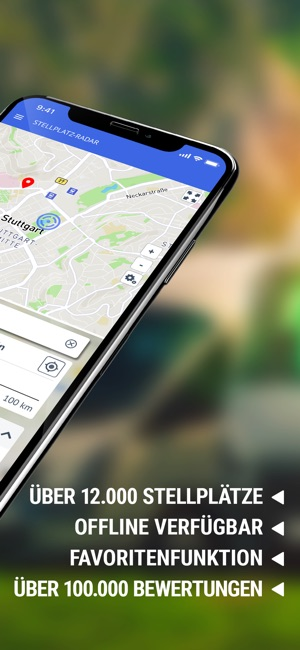 wohnmobil stellplatz app iphone kostenlos
