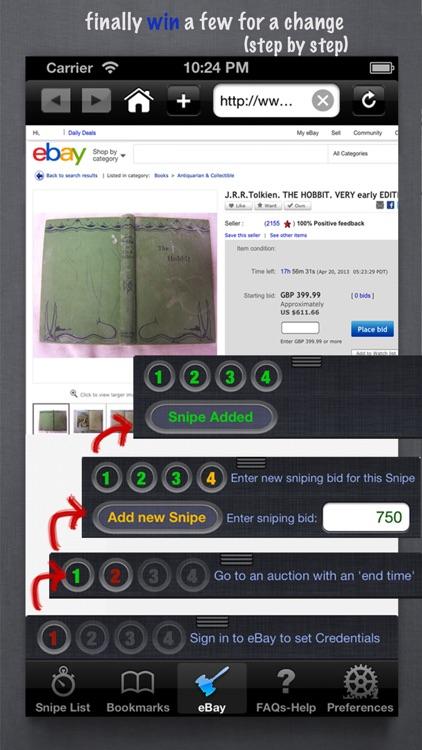 Auction Sniper for eBay