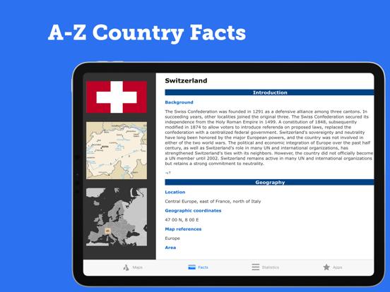 Atlas Geo 2021 Pro: Facts Mapsのおすすめ画像5