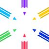 Yi Yu - 6色の手帳 - 日々の消費記録 アートワーク