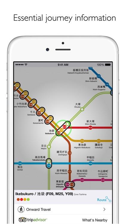 Tokyo Metro Subway Map