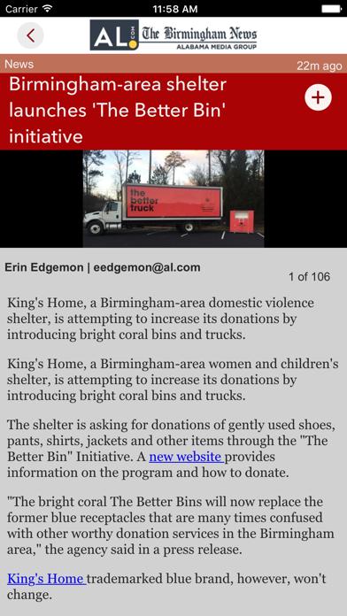 The Birmingham News Screenshot