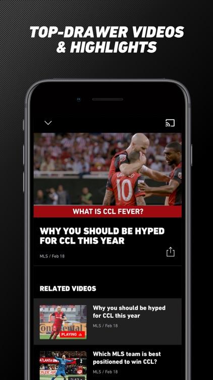 MLS: Live Soccer Scores & News screenshot-9
