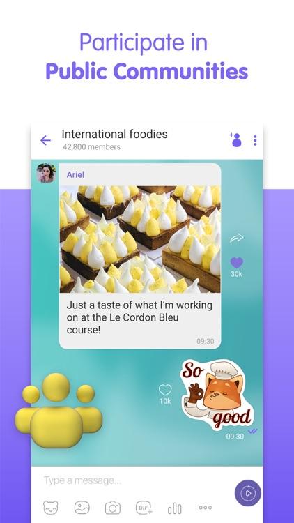Viber Messenger: Chats & Calls screenshot-5