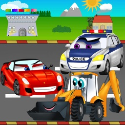 Cars Road Race Kids Game