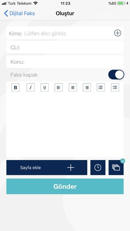 Dijital Faks screenshot-3