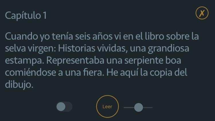 El Principito - Audiolibro screenshot-3
