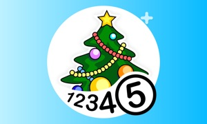Color by Numbers - Christmas +