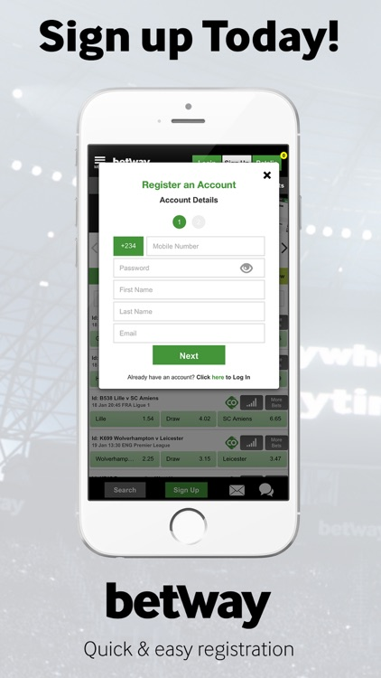 Betway Sports Betting