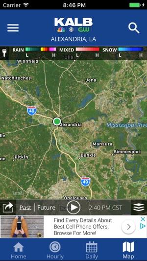 Kalb Weather Map.Kalb Wx On The App Store