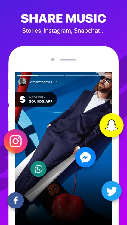 Sounds App Music for Instagram