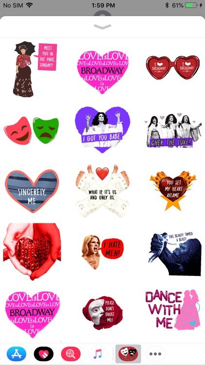 Broadway.com Stickers