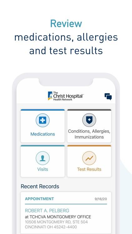 Christ Hospital Health Network screenshot-3