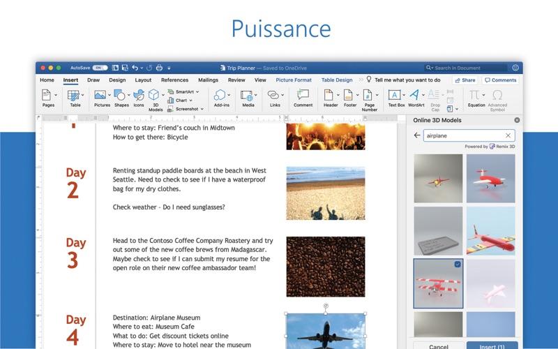 Microsoft Word sur pc
