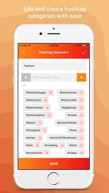 Hashtag Organizer screenshot-5