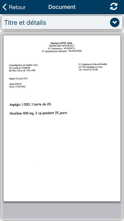 Acteur Mobile screenshot-3
