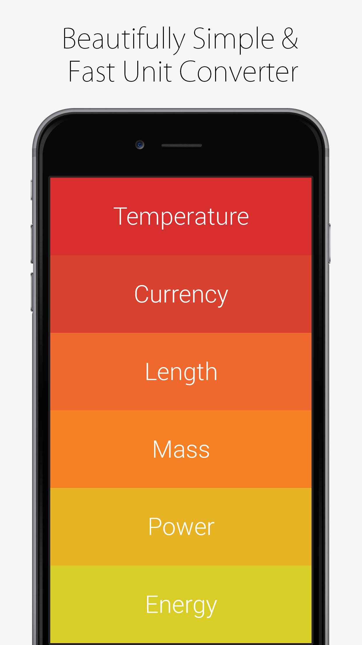 Screenshot do app Convoto - Unit Converter