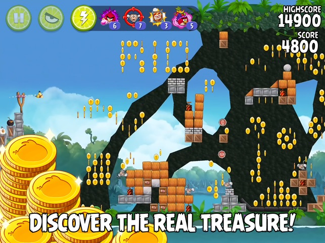 Angry Birds Rio HD Screenshot