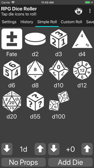 RPG Dice-Roller screenshot #3