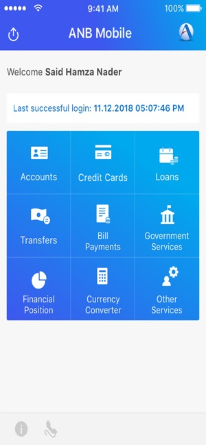 Anb Mobile Arab National Bank On The App Store