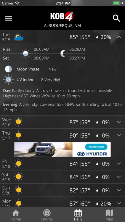 KOB 4 Weather screenshot-3