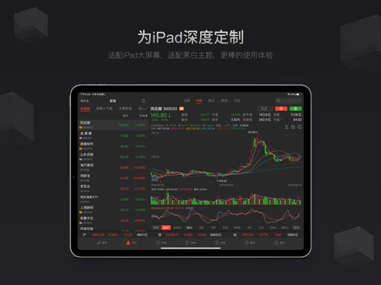 同花顺HD-炒股票必备 screenshot two