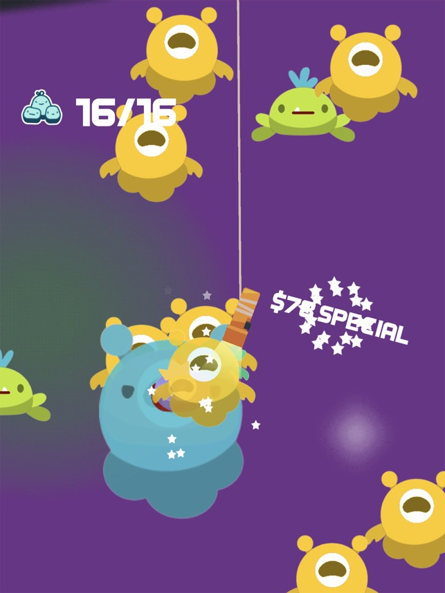 Bed Monsters, game for IOS