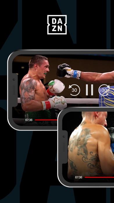 DAZN: Live Boxing & MMA Screenshot