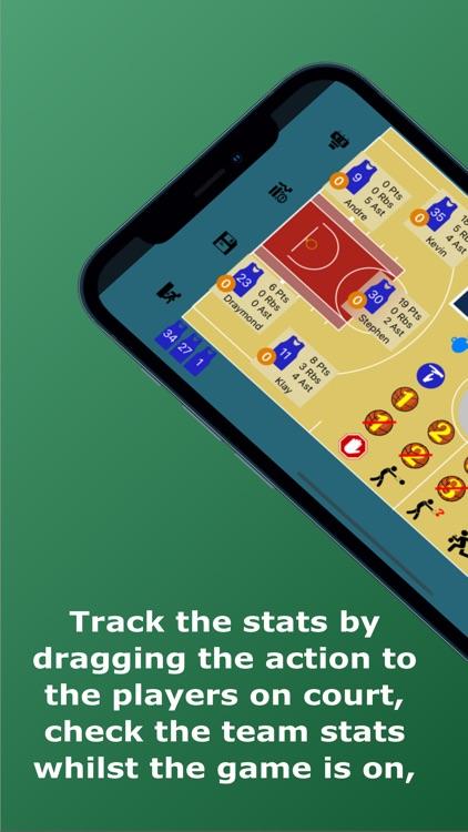 Basketball Stats Assistant screenshot-0