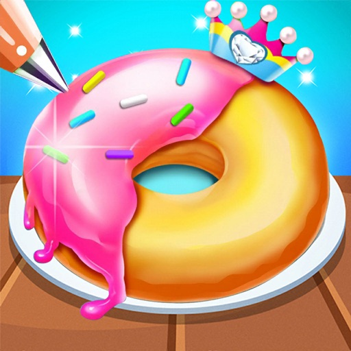 Cooking Idle Donut Baking Game