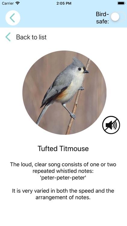 ChirpOMatic USA - Bird Song ID screenshot-4
