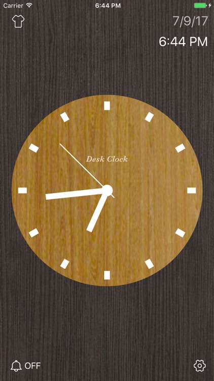 Desk Clock - Analog Clock screenshot-5