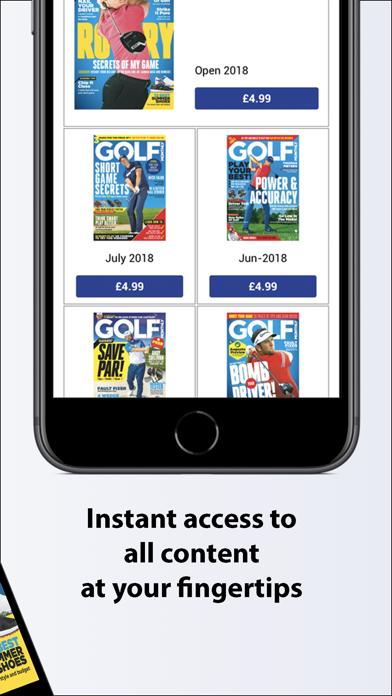 Golf Monthly Magazine screenshot two