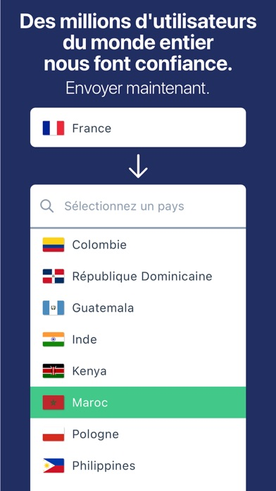 Remitly: Transfert d'argent