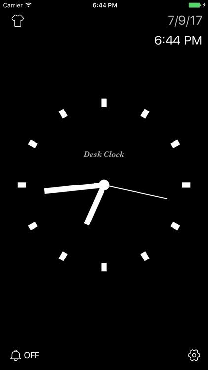 Desk Clock - Analog Clock screenshot-4
