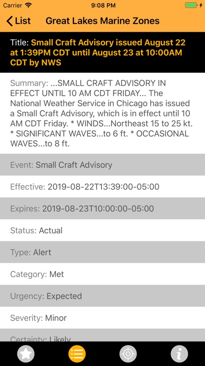 NOAA Alerts Weather PRO screenshot-4