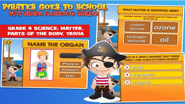 Pirate School: Fourth Grade screenshot-3