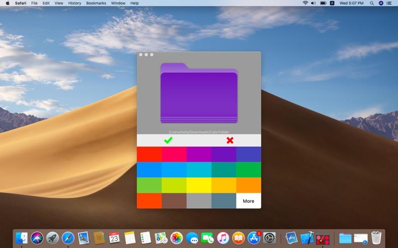 ColorFolder Screenshot
