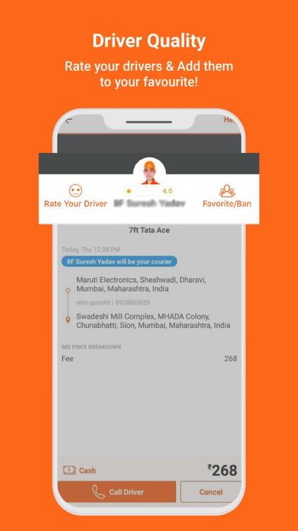 Lalamove India - Delivery App screenshot-6