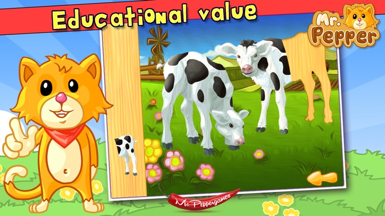 Baby Animals Puzzle - For Kids