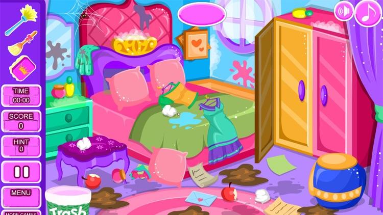 Princess room cleanup games screenshot-9