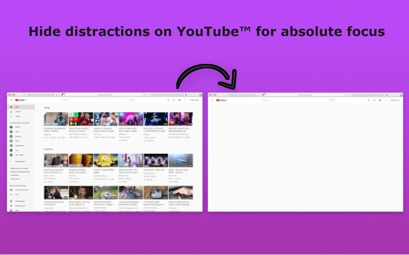 Focus for Youtube Screenshot