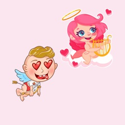 Valentine's day - Love sticker