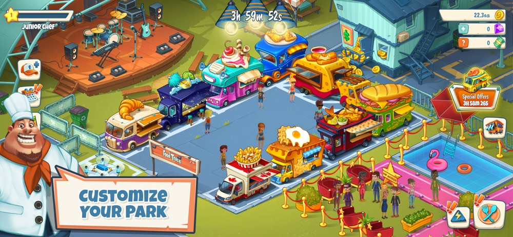 Idle Food Truck Tycoon™ Cheat Codes