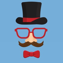 Funny mask hats stickers emoji