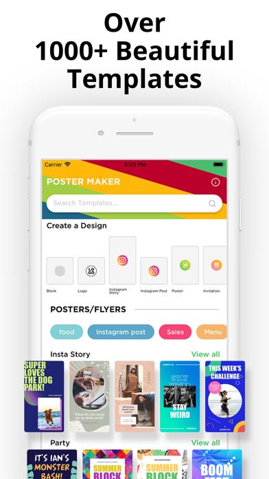Poster Maker - Flyer Designer! Screenshot